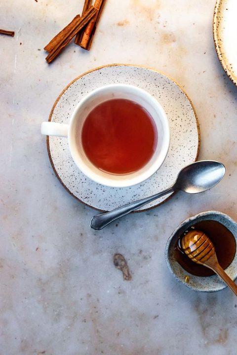 homemade cinnamon tea latte recipe
