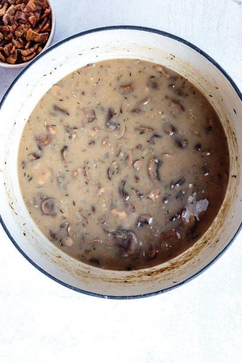 how to make creamy mushroom soup recipe dairy-free soup recipe aip soup recipe paleo soup recipes