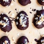 how to make chocolate easter eggs with toasted coconut butter