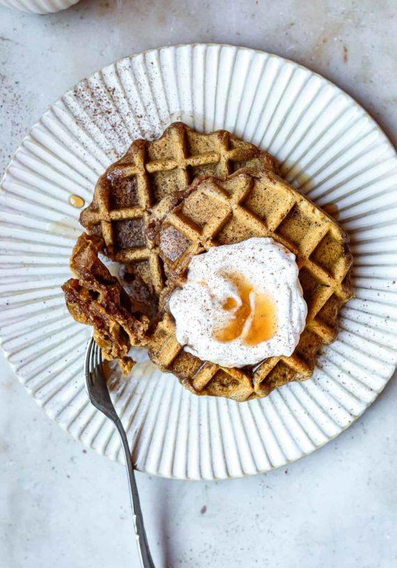 AIP Paleo Waffles (egg-free, nut-free, vegan)