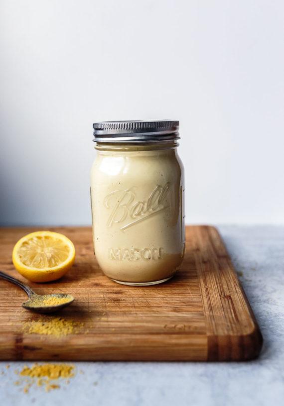 Coconut-Cauliflower Cheese Sauce recipe