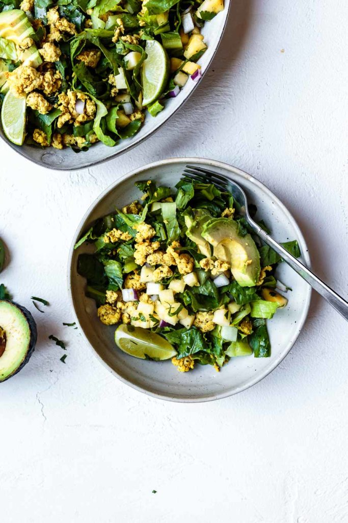 how to make paleo ground chicken taco salad recipe