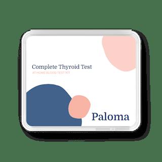 Shop the Paloma Thyroid test kit